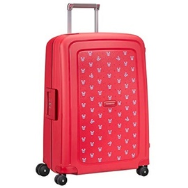 Samsonite S'Cure 4-Rollen 69 cm / 79 l mickey summer red