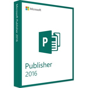 Microsoft Publisher 2016 Multilanguage Vollversion