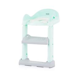 Chipolino Toilettentrainer Toilettenaufsatz, Toilettensitz, mit Leiter, Griffe, Fußstütze, kompakt