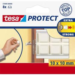 TESA tesa® Schutzpfuffer (L x B) 10mm x 10mm Weiß Inhalt: 8St.