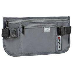 Wenger Reisezubehör Sicherheits-Gürteltasche mit RFID-Schutz 26 cm - Grau
