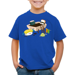 style3 Print-Shirt Kinder T-Shirt Sushi Dinner japan japanisch dinner 128