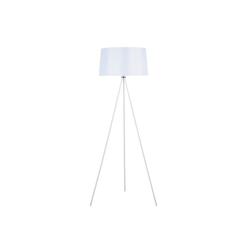 HOMCOM Stehlampe Tripod-Stehlampe weiß