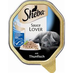 Sheba Schale Sauce Lover mit Thunfisch 85g (Menge: 22 je Bestelleinheit)