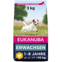 Eukanuba Adult kleine Rassen Huhn 3 kg
