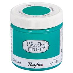Rayher Chalky Finish Kreidefarben meergrün 118 ml, 1 St.