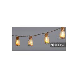 HTI-Living LED-Lichterkette LED Lichterkette 10er Candy