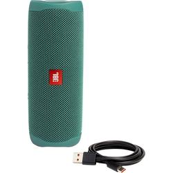 JBL Flip 5 Lautsprecher (Bluetooth, 20 W, Eco-Edition) grün