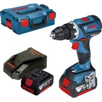 Bosch GSR 18V-60 C Professional inkl. 2 x 4,0 Ah + L-Boxx 0615990J45