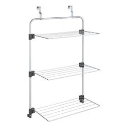Metaltex Gale Duschkabinen-Trockner, Hängetrockner mit drei aufklappbaren Gitter und Epotherm®-Beschichtung, Maße: 57 x 31 x 96 cm