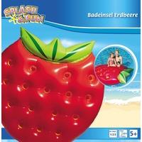 Vedes Splash & Fun Badeinsel Erdbeere, 143x140x25cm