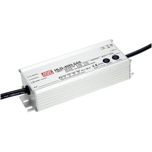 Mean Well HLG-40H-24A LED-Treiber, LED-Trafo Konstantspannung, Konstantstrom 40W 1.67A 24 V/DC PFC-S