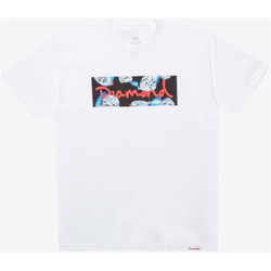 Tshirt DIAMOND - Diamond Cuts Ss Tee White (WHT)