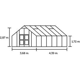 Juliana Gärtner Alu grau HKP 10 mm 16,2 m²