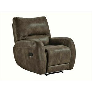 TV-Sessel FM-373-1 Braun Stoff Sessel Köperdruck Polstermöbel Relaxsessel Relax