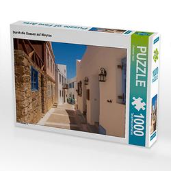 Durch die Gassen auf Nisyros Lege-Größe 64 x 48 cm Foto-Puzzle Bild von Christian Haidl Puzzle