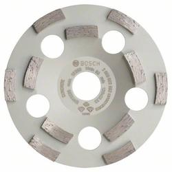 Bosch Accessories 2608602552 Diamanttopfscheibe Expert for Concrete, 125 x 22,23 x 4,5 mm, 50 g/mm �
