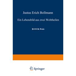 Justus Erich Bollmann als Buch von Justus Erich Bollmann