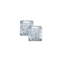 Nachtmann Kerzenhalter Ice CubeTeelichthalter 2-tlg. (2 Stück)
