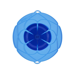 Kochblume Überkochschutz Überkochschutz blau 33 cm