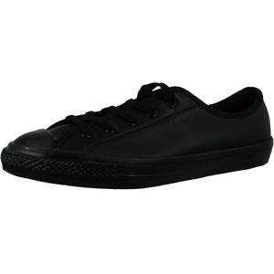 Converse Chuck Taylor All Star Dainty Ox Frauen Monochrom Schwarze Sneakers-UK 7 / EU 41