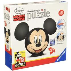 Ravensburger 3D-Puzzle Ravensburger 11761 Mickey Mouse 3D-Puzzle, 72 Puzzleteile