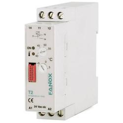 Fanox Überwachungsrelais 24 V/DC, 24 V/AC 1 Wechsler 1 St. T2-24 VAC/DC Temperatur