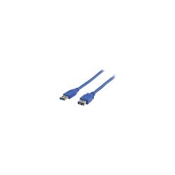 Valueline USB 3.0 Verlängerungskabel 2 m blau