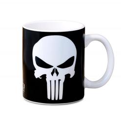 LOGOSHIRT Tasse mit coolem Print Punisher schwarz