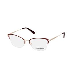 Longchamp LO 2118 604, inkl. Gläser, Cat Eye Brille, Damen