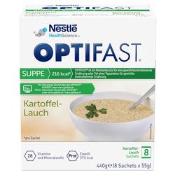 OPTIFAST Suppe Kartoffel-Lauch Pulver 8X55 g