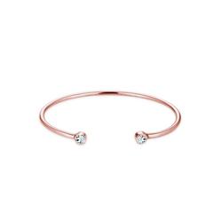 Elli Armreif Armreif Trend Kristalle 925 Silber rosa
