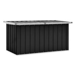 vidaXL Gartenbox vidaXL Gartenbox Anthrazit 129 x 67 x 65 cm