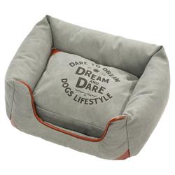 D&D Hundebett Lifestyle Sofabed Dream blau, Maße: 65 x 55 x 25 cm