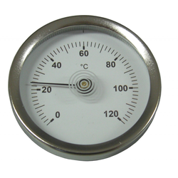 sanicomfort Anlegethermometer 63 mm, 0 °C - 120 °C