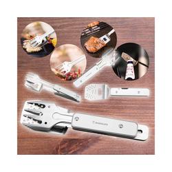 RADOLEO Grillbesteck-Set Grill-Multi-Tool GENIUS POCKET 4 Grill-Werkzeuge