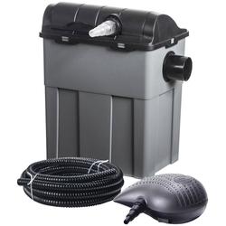 Heissner Teichfilter FPU10100-Set, mit UVC-Klärer, Förderleistung: 3.300 l/h / 40W