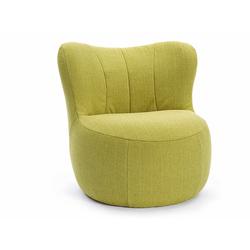 Sessel freistil 173 freistil grün, Designer Müller & Wulff, 75x76x82 cm