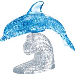 HCM Kinzel 3D Crystal Puzzle Delfin blau 100 Teile