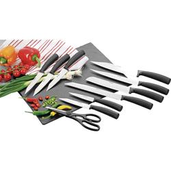HOMESTYLE Messerset LEON 10 teilig mit Kochmesser und Schere