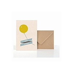 Grußkarte Luftballon (VE5)