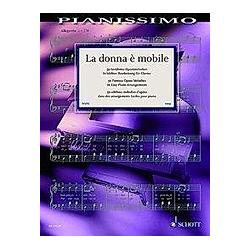 La donna è mobile. Klavier - Buch
