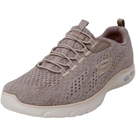 SKECHERS Empire D'lux - Lively Wind taupe/pink 40