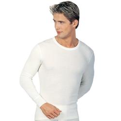 Medima Herren Unterhemd langarm 20% Angora weiß Gr. M