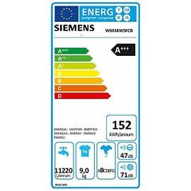 Siemens WM14W5FCB iQ700