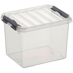 sunware Q-line Aufbewahrungsbox 3,0 l transparent 20,0 x 15,0 x 14,0 cm