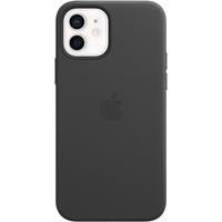 Apple iPhone 12 Pro Leder Case mit MagSafe Schwarz