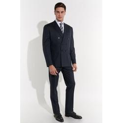 SteffenKlein Anzug Business-Anzug aus Wolle 54