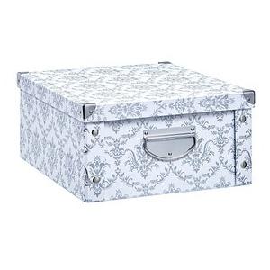 Zeller Aufbewahrungsbox 19,2 l weiß 33,0 x 40,0 x 17,0 cm