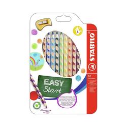 STABILO Buntstift Buntstifte EASYcolors, Linkshänder, inkl. Spitzer,